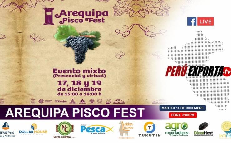 CONFERENCIA DE PRENSA DEL I AREQUIPA PISCO FEST